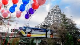 Disneyland Monorail at Disneyland Resort