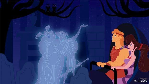 Hercules & Meg Test Their Bravery at Magic Kingdom Park