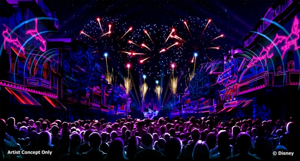"""Mickey's Mix Magic"", Disneyland park"