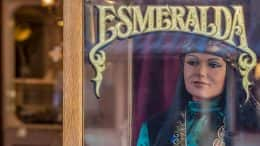 Esmeralda the Fortune Teller machine at Disneyland park