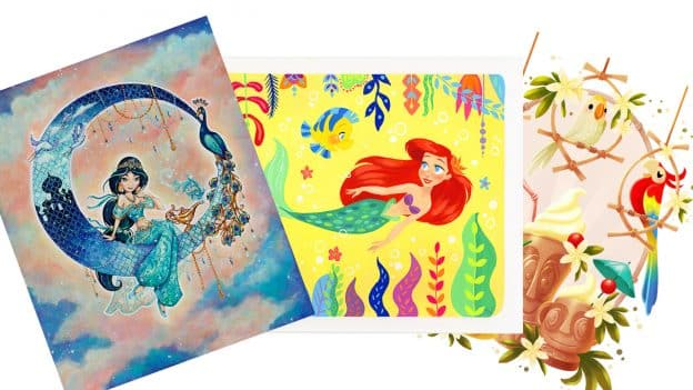 Featured in February: Meet the Artists at WonderGround Gallery in Downtown Disney District at Disneyland Resort