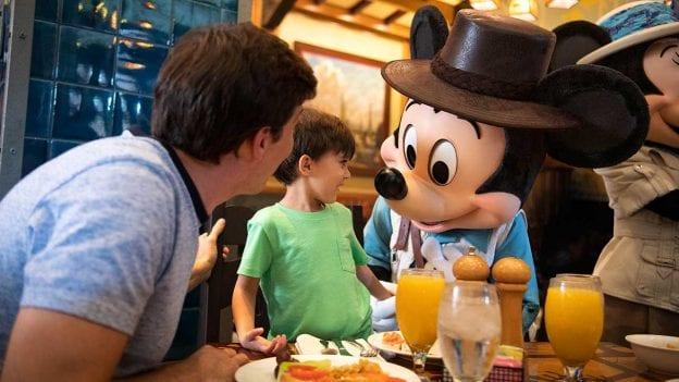 Character Dining Options for Your Preschooler at Disneyland Resort
