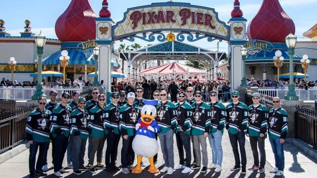 Disney and Anaheim Ducks Fans Celebrated Anaheim Ducks Day at Disney California Adventure Park