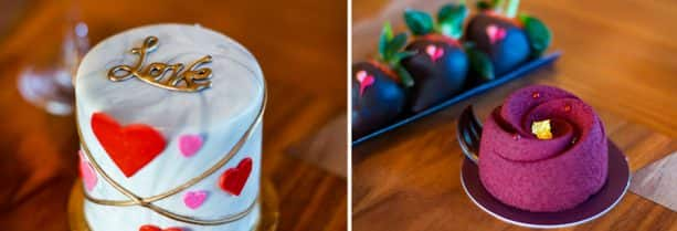 Valentine's Day Desserts from Amorette's Patisserie at Disney Springs