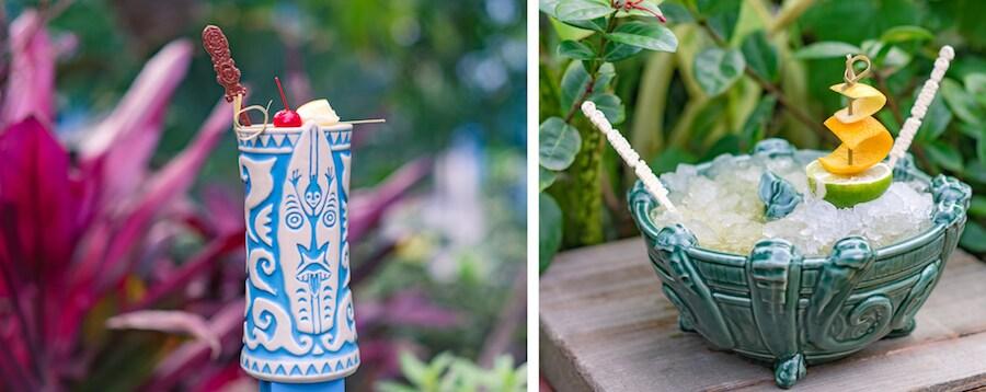 New Tiki Drinks at Trader Sam's Enchanted Tiki Bar at the Disneyland Hotel