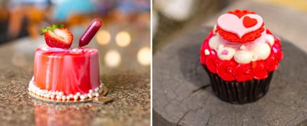 Valentine's Day Cupcakes from Disney's Contemporary Resort and Disney's Polynesian Village Resort
