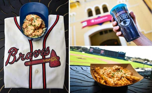 specialty food & beverage for Atlanta Braves Spring Training Season