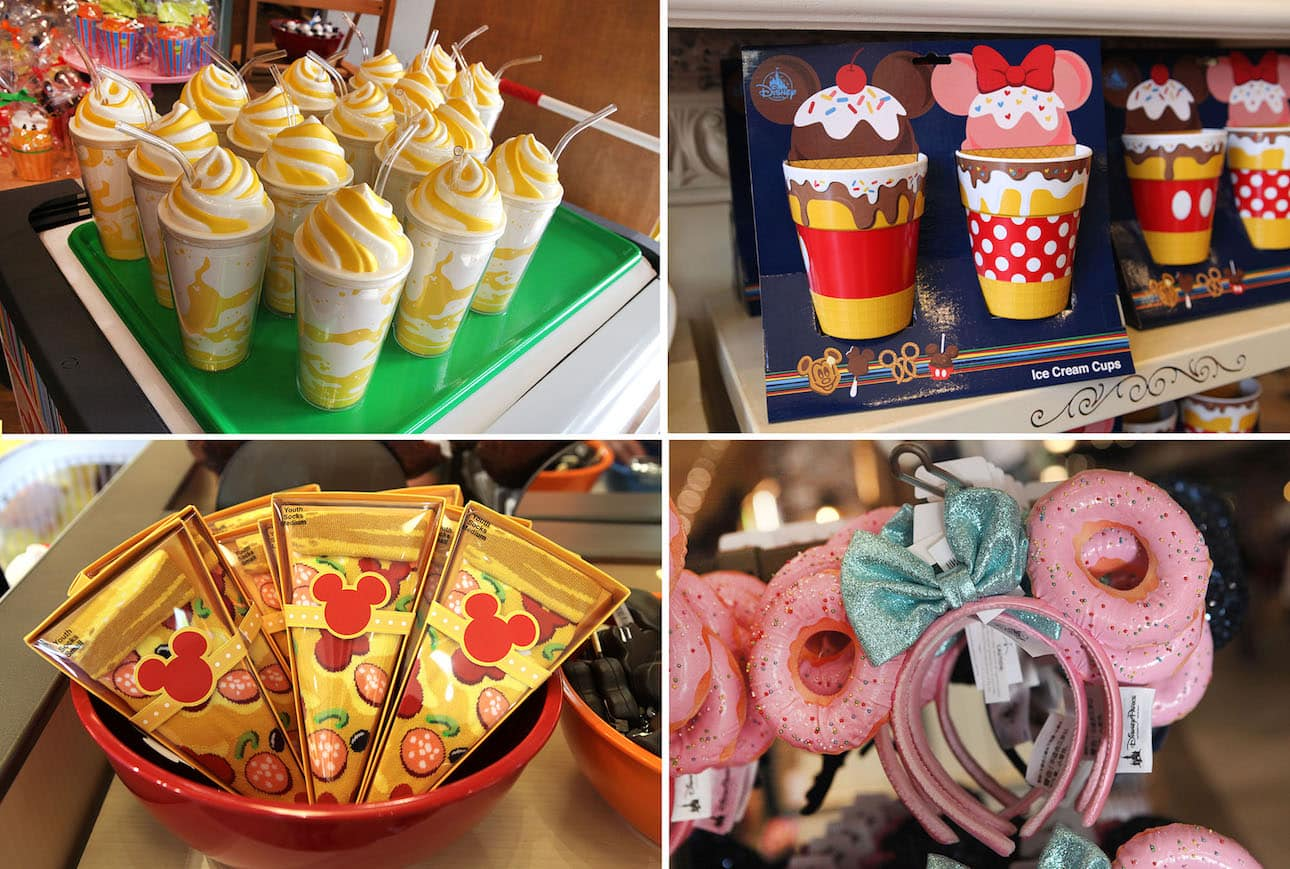 New Whimsical merchandise collection that celebrates the fun of Disney Parks food