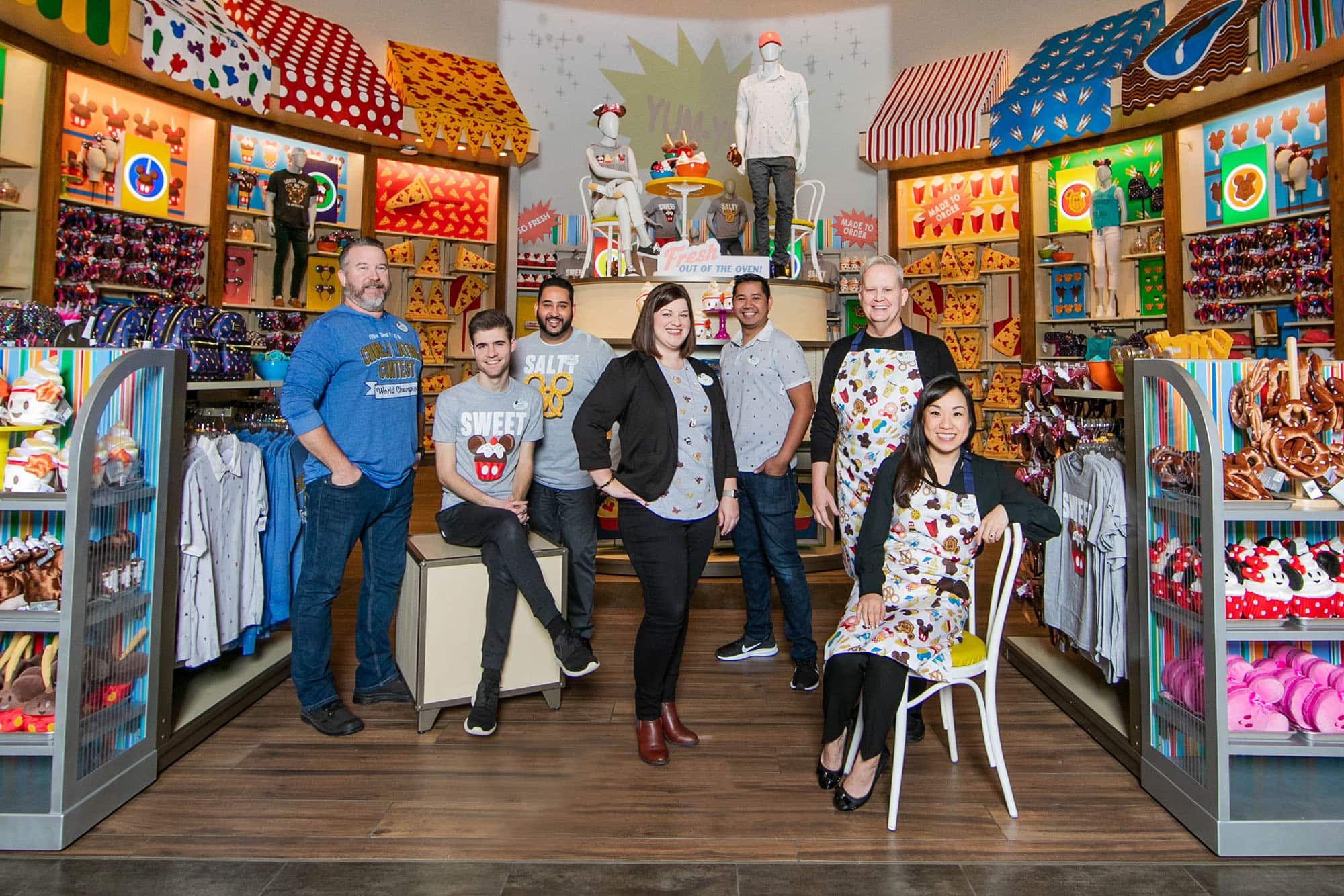 Merchandise Product Development and Visual Display Teams
