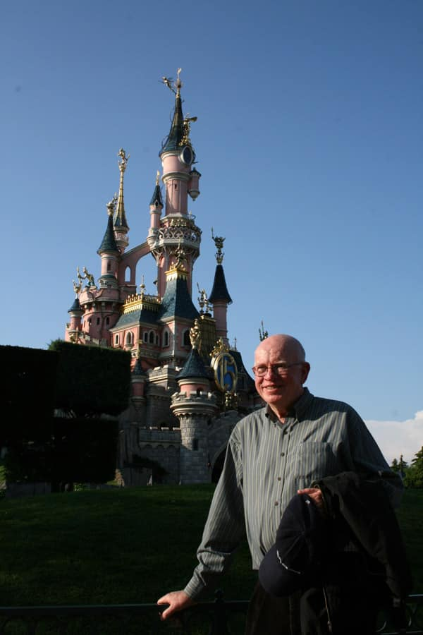 Dave Smith at Disneyland Paris