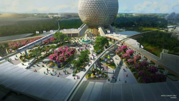 First-of-its-Kind Play Pavilion, New Park Entrance Part of Epcot's Historic Transformation