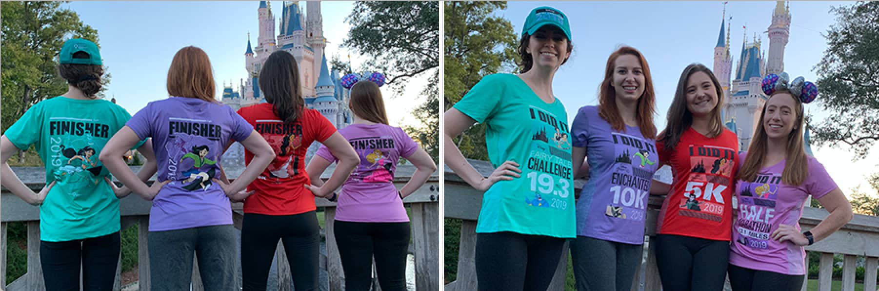 runDisney 2019 Disney Princess Half Marathon Weekend Logo Performance Apparel