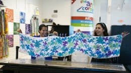 Artistic Marbling activity at Disney Springs