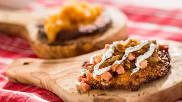 Potato Pancake from Bauernmarkt: Farmer's Market at the 2019 Epcot International Flower & Garden Festival