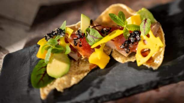 Tuna Tataki from The Citrus Blossom at the 2019 Epcot International Flower & Garden Festival
