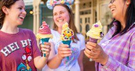 New ice cream cones at Magic Kingdom Park