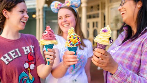 New ice cream cones at Magic Kingdom Park
