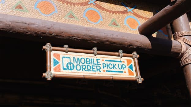 Mobile Ordering at Disney's Animal Kingdom