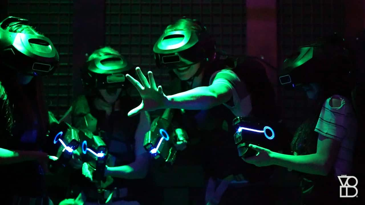 The VOID: A Hyper-Reality Experience