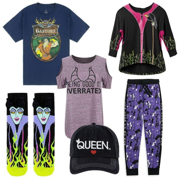Villaintine's Day apparel, available at Disney Parks