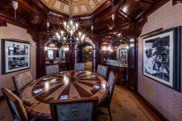 Semi-privare dining area, Cathay Circle at Disney California Adventure park
