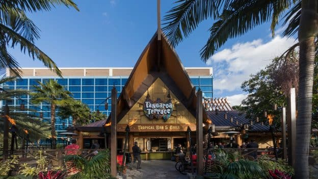 Tangaroa Terrace Reopens at the Disneyland Hotel with