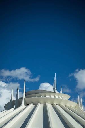 Space Mountain at Disneyland Park