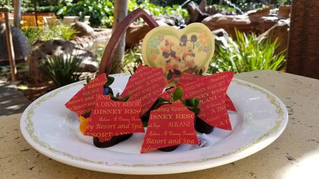 Valentine's Day Treats at Aulani, A Disney Resort & Spa