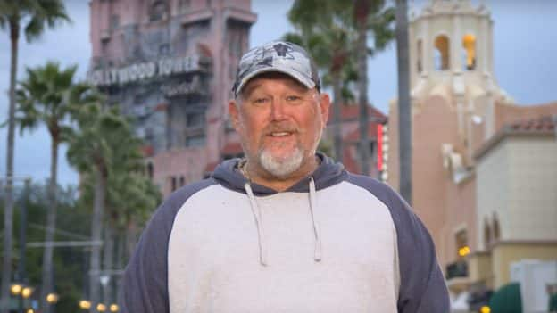 Larry the Cable Guy at Disney's Hollywood Studios