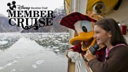 Disney Vacation Member Cruise in Alaska