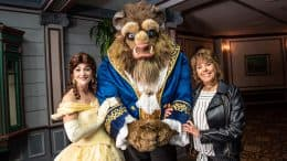 'Beauty & The Beast' Voice Paige O'Hara Surprises Beast For Valentine's Day