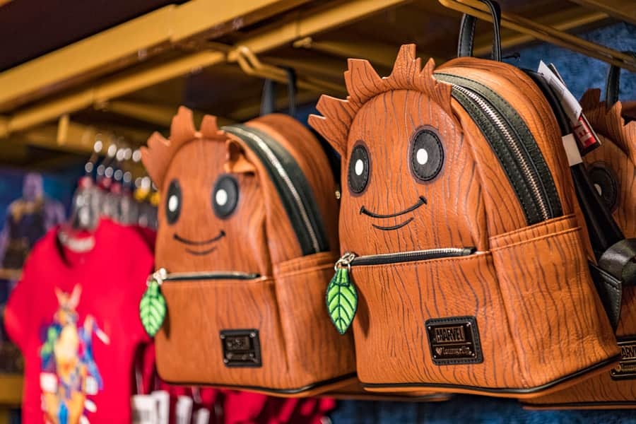 Groot backpack available during Marvel Day at Sea