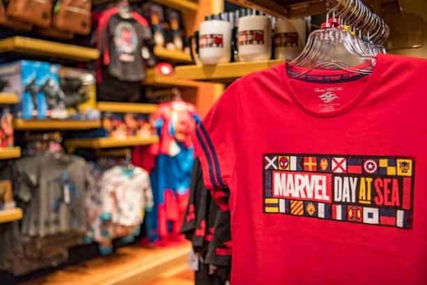 Marvel Day at Sea t-shirt