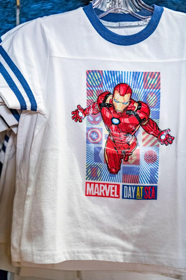 Iron Man Marvel Day at Sea t-shirt