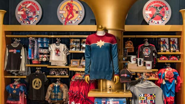 Exclusive Merchandise for Marvel Day at Sea aboard Disney Cruise Line
