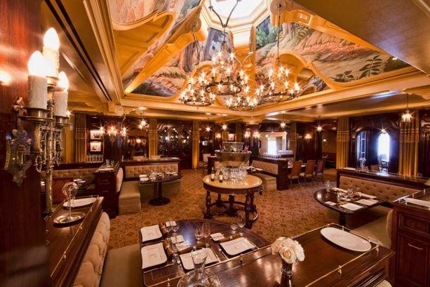 Main room dining area, Cathay Circle at Disney California Adventure park