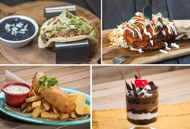 Paradise Garden Grill Offerings from the 2019 Disney California Adventure Food & Wine Festival