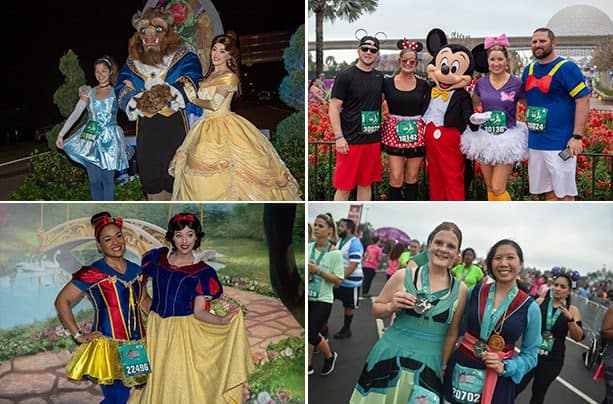 2019 Disney Princess Enchanted 10K photo collage
