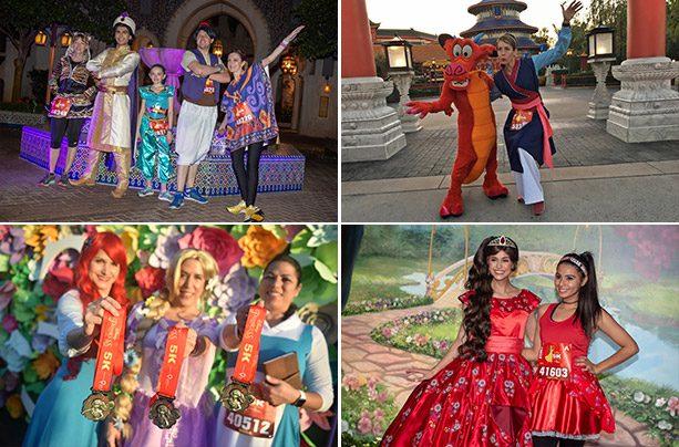 2019 Disney Princess 5K photo collage