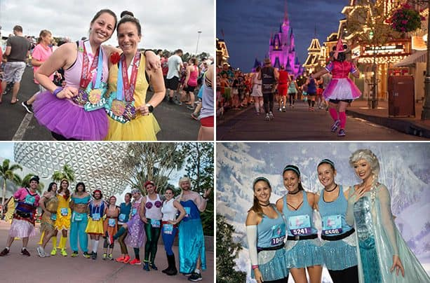 2019 Disney Princess Half Marathon photo collage