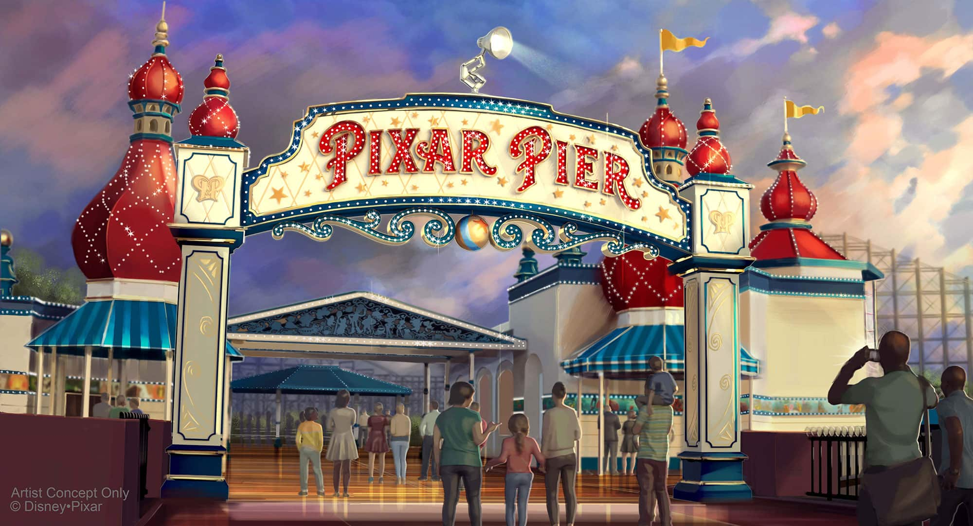 New Lamplight Lounge to Open June 23 at Pixar Pier in Disney California Adventure Park