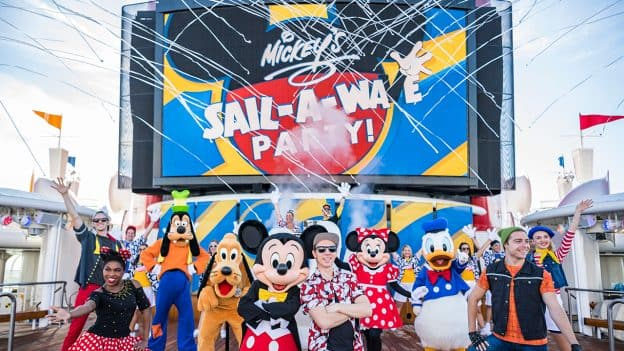 Mickey's Sail-a-Wave Party