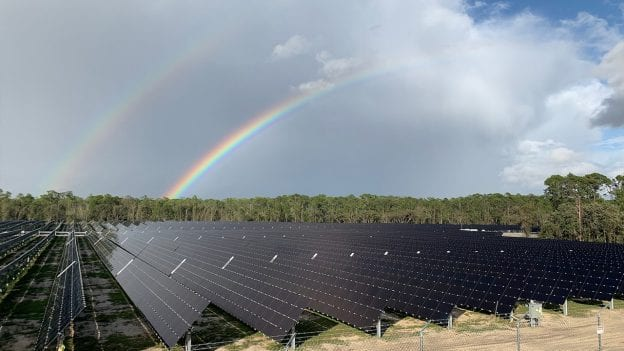 Solar Facility at Walt Disney World Resort