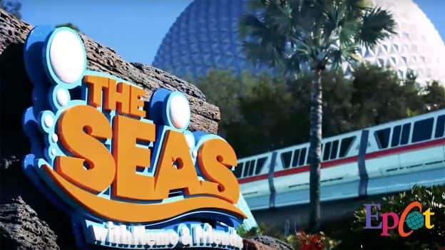 The Seas With Nemo & Friends at Epcot