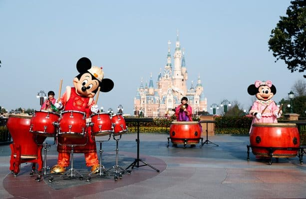 Chinese New Year celebrations at Shanghai Disney Resort