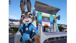 Judy Hopps from 'Zootopia' at Magic Kingdom Park