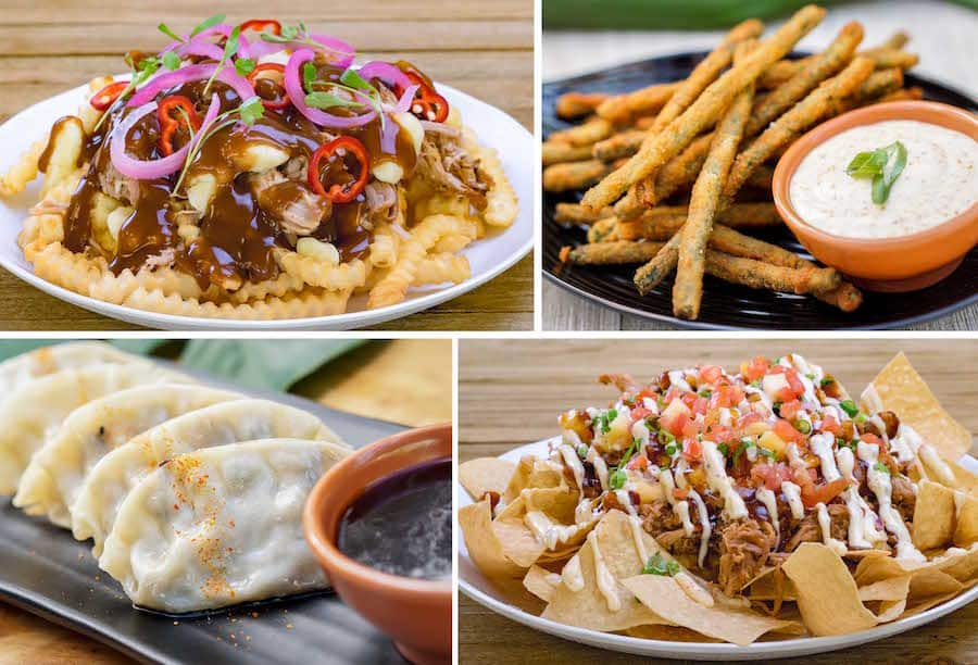 Shareable Items at Tangaroa Terrace Tropical Bar & Grill at the Disneyland Hotel