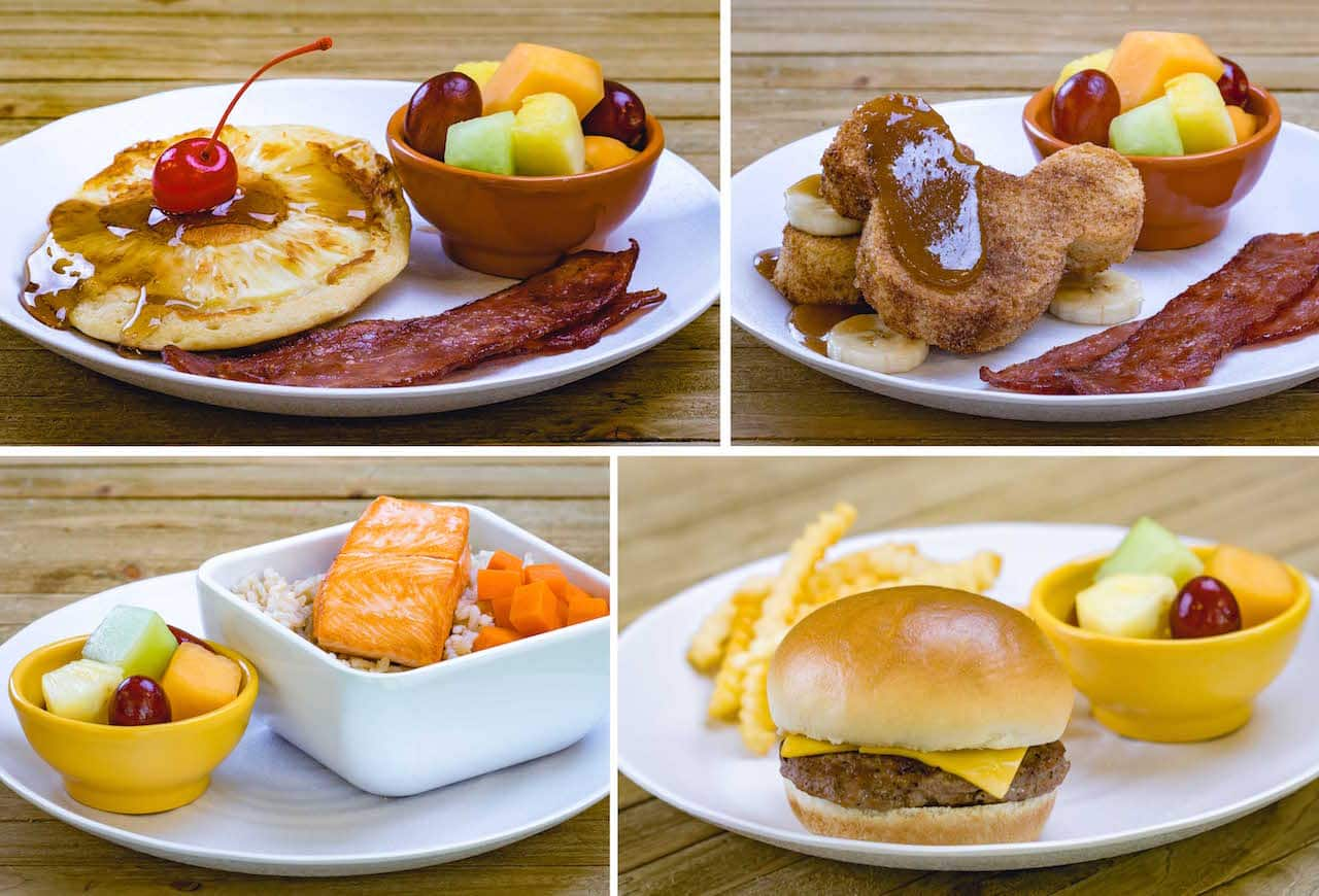 Kid's Meals at Tangaroa Terrace Tropical Bar & Grill at the Disneyland Hotel