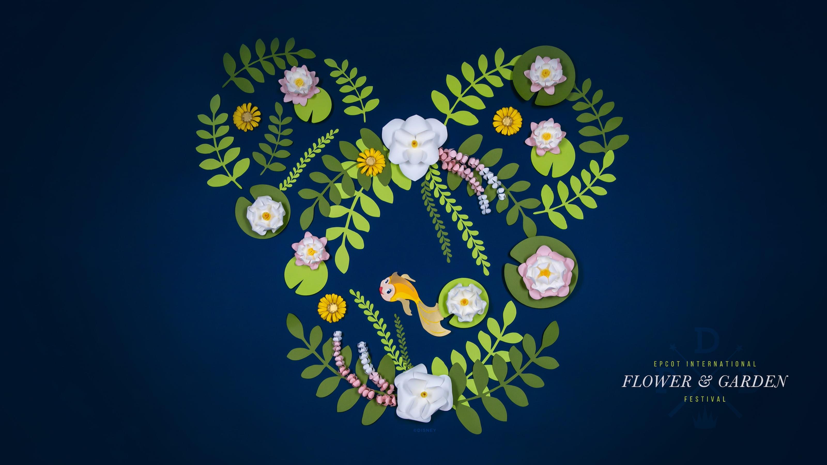 2019 Epcot International Flower Garden Festival Wallpaper