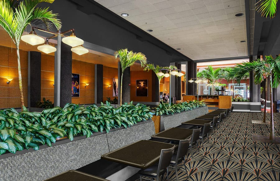 Rendering of ABC Commissary Enhancements at Disney's Hollywood Studios